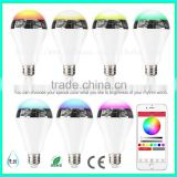 Hot selling led with speaker bluetooth light bulb adapter                                                                                                         Supplier's Choice