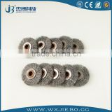 Carbon sulfur analyzer used round wire brush,copper wire brush,stainless steel wire round brush