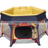 indoor and outdoor use child play yard playpen, Cabana(with EN71 certificate) baby product