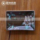 Brand New Design Ceramic Hotel Bathtub Shaped Soap Dish