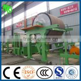 Mini type Used Tissue Making Machine/Small waste paper recycling plant/787 type toilet paper machine