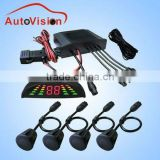 High Quality 4 Sensors System Parking Sensors Car Parking Kits IP68 waterproof digital car parking sensor system