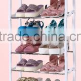 Cheap price outdoor vertical retail shoe rack display
