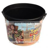 cinema movie plastic Popcorn bucket with handle                                                                         Quality Choice