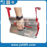 hot selling fire escape ladder /hanging ladder /fire escape rope ladder                                                                         Quality Choice