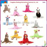 Kids Bathrobes Animal Design/animal bathrobes / animal baby bathrobe                                                                         Quality Choice