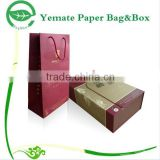 Professional Box Factory! High end custom two pieces paper wine box packaging, paper beverage box, beer bottle paper box