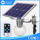 Factory Source Motion Sensor Solar Pole LED Solar Street Light Garden Light 4W 8W 12W                                                                         Quality Choice
