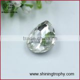 Waterdrop Baguette shape dark black crystal accessory diamond for decoration