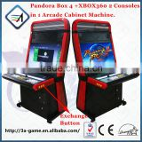 Arcade Games Coin Operated Pandora Box 4 and XBOX360 Game 2 in 1Taito Vewlix-l Cabinet Fighting Arcade Video Game Machines