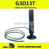 13dbi High-gain 3G TS9 Antenna with 2m cable for wireless network