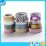 Waterproof Custom Washi Decorative Glitter Tape
