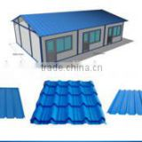 Steel Structure Workshop corrugated steel Roof