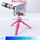 2015 factory price multi function universal Portable Mini Tripod and Adjustable Holder for Iphone and Nikon
