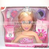 popular beautiful dress up doll toy
