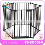 Safe and Secure Metal Playpen /play yard/baby safety gate
