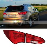 Auto LED Rear Lights Black or Red Shell Car Taillights For Hyundai IX45 Santa Fe Third generation 2013 2014 2015                                                                         Quality Choice