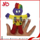 Customized plush finger puppets toys,children gift factory plush toys for letters learning                                                                         Quality Choice