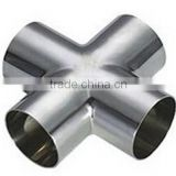 Sanitary Stainless Steel Welded /Clamped Cross