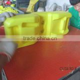 Australia standard plastic base for temporary construction fence (blow-moulding type/HDPE)