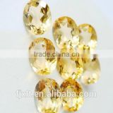 6mm oval loose gems citrine rough
