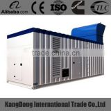 CE approved 1000kva mtu engine container type generator set