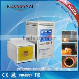 Hot sale 50kw high frequency induction aluminum alloy melting machine