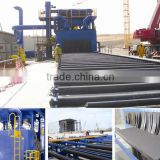 Steel Plate Surface Automatic Pre-Treatment Line/Roller Type Shot Blasting Machine/Wheel Blasting