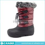 Winter Boots Women's Warm Winter Snow Boots With Two Buttons Women Shoes With Fur inside 2016 New,boots woman winter 2016