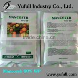 Mancozeb 75% WDG 90% TC 80% WP, Protective fungicide most popular type fungicide great demand in Cocoa