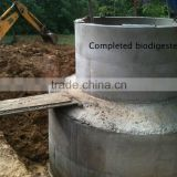 China Puxin High Reliable Household 10m3 Biogas Anaerobic Digester                                                                         Quality Choice