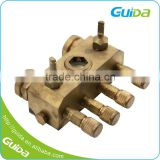 Bathroom Fittings Air Distributor Stainless Steel Water Heater Meter Manifold Air Brass Part
