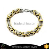 Cute Fashion Jewelry Manufacturer Brazilian Gold Plated chain Bracelet For Girls