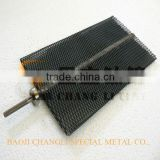 baoji best ruthenium iridium coated titanium mesh anode