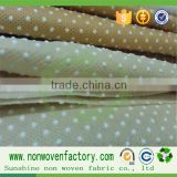 Wholesale anti skid pp spun-bond nonwoven fabric for slippers