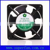 2015 Factory direct sell custom square shape high speed and air flow axial fan 24 volt fan 120*120*32mm