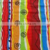 Printed nylon and spandex Fabric, Used for Swimwear, Spandex Can be Changed to Lycra, Weighs 160 to 220gsm