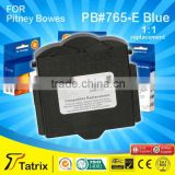 765-E Blue Postage ink cartridge for Pitney Bowes DM200 DM300 DM225 DM250 franking mailing machine
