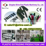 PVC/SPVC/TPE/TPV/TPO/TPU sealing strip extrusion machine / door gasket frame production machines for window and door or car