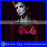Super Quality New Arrival Plenty Of Stock Print Wire Light Up Bra