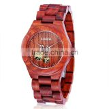 100% Healthy Hot Sale Handcrafted wooden Watches With Band Custom Logo Digital Design Your Own wood Watch