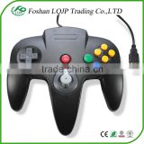 New USB TO PC/MAC controller for N64 GAMES BLACK CLASSIC GAMEPAD usb CONTROLLERS FOR NINTENDO 64