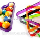 High quality Pool ball colors plastic Triangle/ Factory promotion