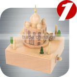 Taj Mahal wooden Nature Gift music boxes