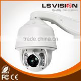 LS VISION wired security camera system 100m ir distance ip ptz camera ptz camera dome outdoor