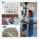 wenzhou starlink The end clearance price $998 automatic single riveting shoe lace eyelet making machine