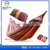 2016 Aofeite 280*80cm Single size parachute hammock canvas fabric hammock for outdoor camping