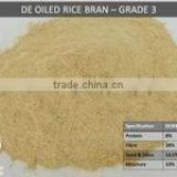 Indian De Oiled Rice Bran