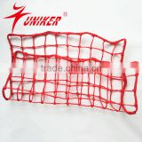 High Quality and Cheap Price Nylon material football Goal Net, soccer net, red de futbol
