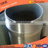 Wholesale johnson v wedge wire stainless steel water well pipe screen new years special